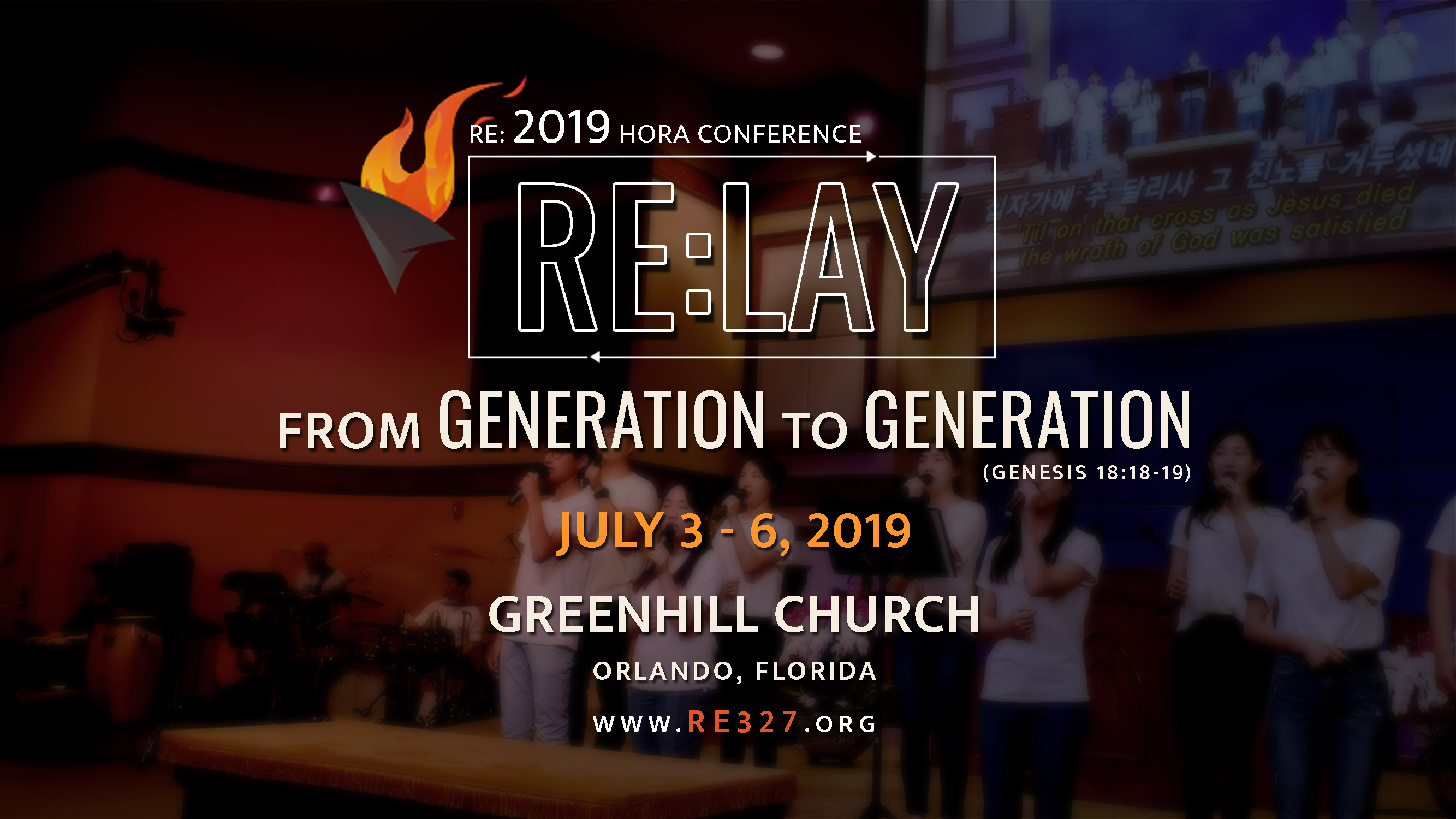 RE:2019 HORA Conference – Green Hill Presbyterian Church – 푸른동산교회
